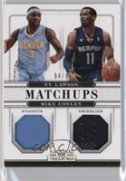 Ty Lawson, Mike Conley #/99