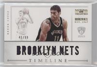 Brook Lopez #/99