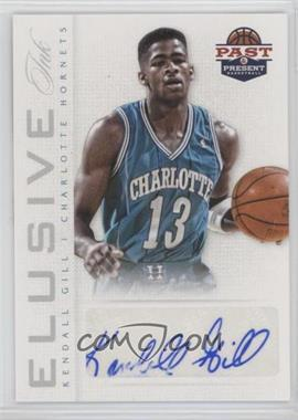 2012-13 Panini Past & Present - Elusive Ink #35 - Kendall Gill