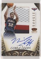Rookie Silhouettes - Mike Scott #/25