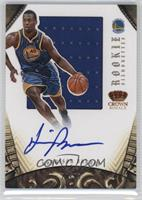 Rookie Silhouettes - Harrison Barnes [Noted] #/99
