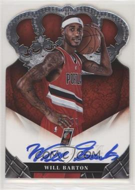 2012-13 Panini Preferred - [Base] #382 - Rookie Crown Royale Signatures - Will Barton /99