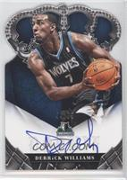 Rookie Crown Royale Signatures - Derrick Williams #/99