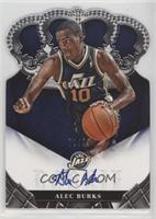 Rookie Crown Royale Signatures - Alec Burks #/99