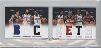 Deron Williams, John Wall, Russell Westbrook, Derrick Rose, Joe Johnson, Klay T…