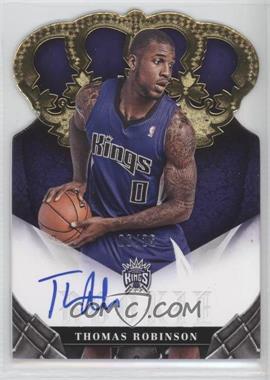 2012-13 Panini Preferred - Crown Royale Signatures - Gold #386 - Thomas Robinson /25