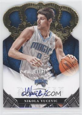 2012-13 Panini Preferred - Crown Royale Signatures - Gold #444 - Nikola Vucevic /25