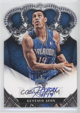2012-13 Panini Preferred - Crown Royale Signatures #471 - Gustavo Ayon /99