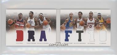 2012-13 Panini Preferred - Draft Material Booklet #3 - Brandon Jennings, Derrick Favors, Stephen Curry, Ty Lawson, DeMarcus Cousins, Jeff Teague, John Wall /199