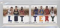 Brandon Jennings, James Harden, Stephen Curry, Tyler Hansbrough, Tyreke Evans, …