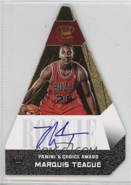 2012-13 Panini Preferred - Panini's Choice Award - Gold #510 - Marquis Teague /10