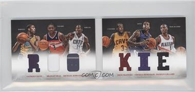 2012-13 Panini Preferred - Rookie Material Booklet #1 - Anthony Davis, Damian Lillard, Michael Kidd-Gilchrist, Bradley Beal, Dion Waiters, Thomas Robinson /249