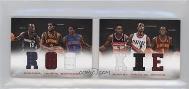 2012-13 Panini Preferred - Rookie Material Booklet #5 - Bradley Beal, Brandon Knight, Dion Waiters, Damian Lillard, Kemba Walker, Kyrie Irving /249