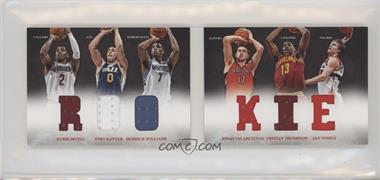 2012-13 Panini Preferred - Rookie Material Booklet #9 - Jan Vesely, Kyrie Irving, Derrick Williams, Enes Kanter, Jonas Valanciunas, Tristan Thompson /249 [EX to NM]