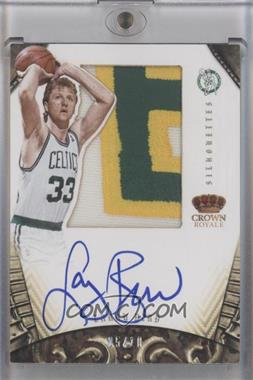 2012-13 Panini Preferred - Silhouettes - Prime #267 - Larry Bird /10