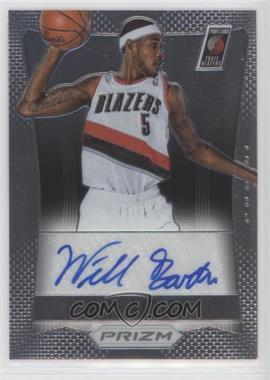 2012-13 Panini Prizm - Autographs #52 - Will Barton