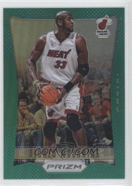 2012-13 Panini Prizm - [Base] - Green Prizms #200 - Alonzo Mourning