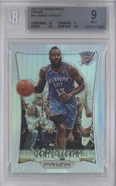 2012-13 Panini Prizm - [Base] - Prizms #95 - James Harden [BGS 9]