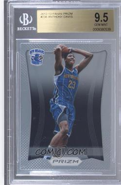 2012-13 Panini Prizm - [Base] #236 - Anthony Davis [BGS 9.5 GEM MINT]