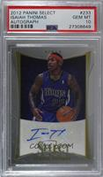Isaiah Thomas [PSA 10 GEM MT] #/449