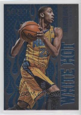 2012-13 Panini Select - Hot Rookies - White Hot #1 - Anthony Davis