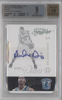 Anthony Davis [BGS 9 MINT] #3/5