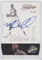 Marvin Williams #/25