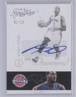 Andre Drummond /10 [Near Mint‑Mint]