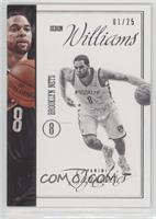 Deron Williams #/25