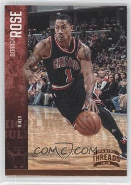 2012-13 Panini Threads - [Base] #15 - Derrick Rose