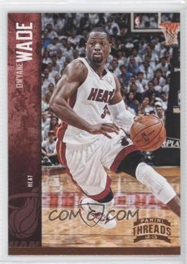 2012-13 Panini Threads - [Base] #78 - Dwyane Wade