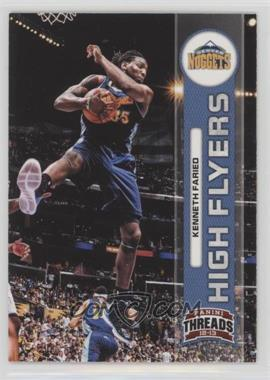 2012-13 Panini Threads - High Flyers #16 - Kenneth Faried
