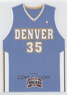 2012-13 Panini Threads - Rookie Team Threads Die-Cut #2 - Kenneth Faried