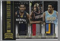 Andre Miller, Mike Conley, Raymond Felton [Noted] #/25