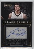 Glass Rookie Autographs - Jimmer Fredette /25