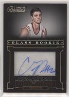 Glass Rookie Autographs - Chandler Parsons #/499