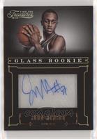 Glass Rookie Autographs - John Henson #/499