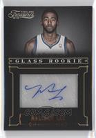 Glass Rookie Autographs - Malcolm Lee /499