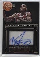 Glass Rookie Autographs - Marquis Teague /438