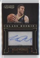 Glass Rookie Autographs - Miles Plumlee /499