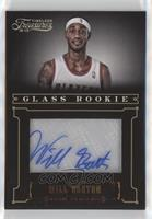 Glass Rookie Autographs - Will Barton [EX to NM] #/499
