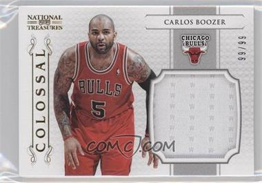 2012-13 Playoff National Treasures - Colossal Materials #2 - Carlos Boozer /99