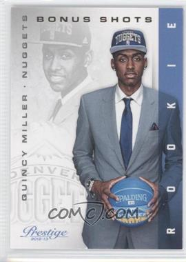 2012-13 Prestige - [Base] - Bonus Shots Gold #238 - Quincy Miller /249