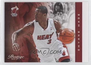 2012-13 Prestige - [Base] #135 - Dwyane Wade