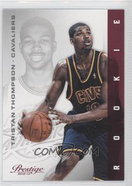 2012-13 Prestige - [Base] #161 - Tristan Thompson
