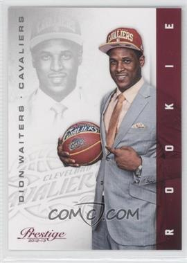 2012-13 Prestige - [Base] #213 - Dion Waiters