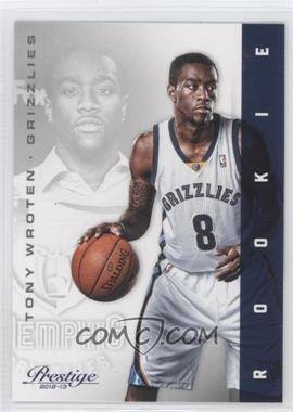 2012-13 Prestige - [Base] #223 - Tony Wroten