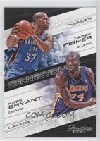 Derek Fisher, Kobe Bryant