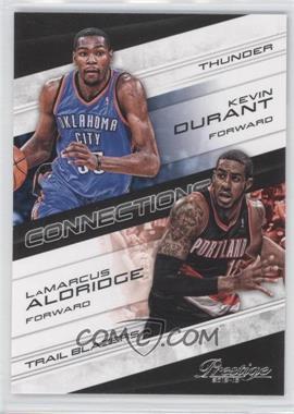 2012-13 Prestige - Connections #7 - Kevin Durant, LaMarcus Aldridge