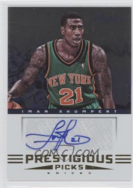 2012-13 Prestige - Prestigious Picks Signatures #16 - Iman Shumpert
